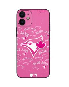 Toronto Blue Jays Pink Cap Logo Blast iPhone 12 Mini Skin