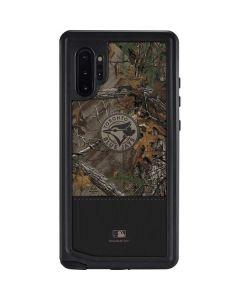 Toronto Blue Jays Realtree Xtra Camo Galaxy Note 10 Plus Waterproof Case