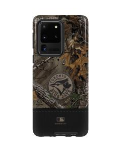Toronto Blue Jays Realtree Xtra Camo Galaxy S20 Ultra 5G Pro Case
