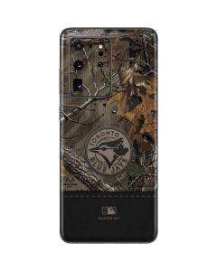 Toronto Blue Jays Realtree Xtra Camo Galaxy S20 Ultra 5G Skin
