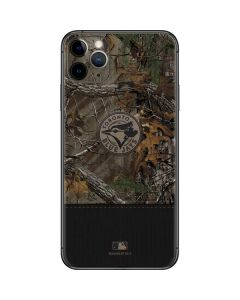 Toronto Blue Jays Realtree Xtra Camo iPhone 11 Pro Max Skin