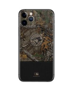 Toronto Blue Jays Realtree Xtra Camo iPhone 11 Pro Skin