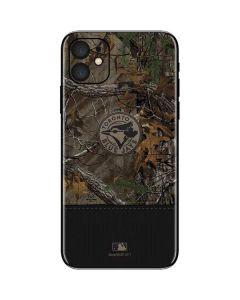 Toronto Blue Jays Realtree Xtra Camo iPhone 11 Skin