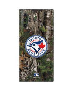 Toronto Blue Jays Realtree Xtra Green Camo Galaxy Note 10 Plus Skin