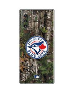 Toronto Blue Jays Realtree Xtra Green Camo Galaxy Note 10 Skin