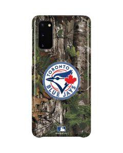 Toronto Blue Jays Realtree Xtra Green Camo Galaxy S20 Lite Case