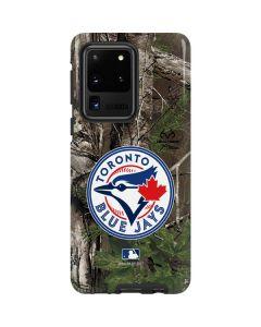 Toronto Blue Jays Realtree Xtra Green Camo Galaxy S20 Ultra 5G Pro Case