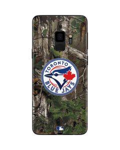 Toronto Blue Jays Realtree Xtra Green Camo Galaxy S9 Skin
