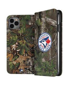 Toronto Blue Jays Realtree Xtra Green Camo iPhone 11 Pro Max Folio Case