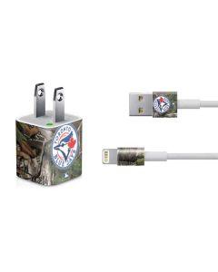 Toronto Blue Jays Realtree Xtra Green Camo iPhone Charger (5W USB) Skin