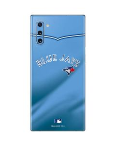 Toronto Blue Jays Retro Jersey Galaxy Note 10 Skin