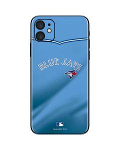 Toronto Blue Jays Retro Jersey iPhone 11 Skin