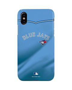 Toronto Blue Jays Retro Jersey iPhone XS Max Lite Case