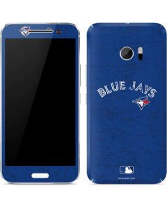 Toronto Blue Jays Solid Distressed 10 Skin