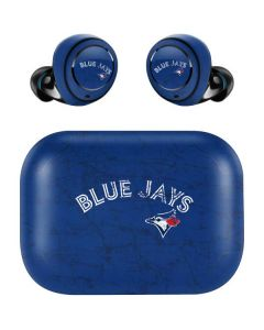 Toronto Blue Jays Solid Distressed Amazon Echo Buds Skin