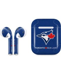 Toronto Blue Jays Solid Distressed Apple AirPods 2 Skin
