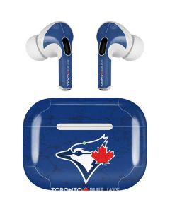 Toronto Blue Jays Solid Distressed Apple AirPods Pro Skin
