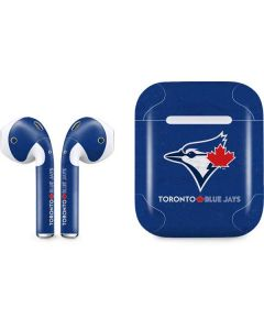 Toronto Blue Jays Solid Distressed Apple AirPods Skin