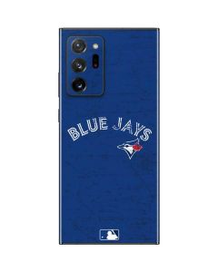 Toronto Blue Jays Solid Distressed Galaxy Note20 Ultra 5G Skin