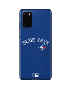Toronto Blue Jays Solid Distressed Galaxy S20 Plus Skin