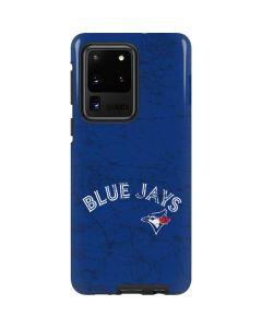 Toronto Blue Jays Solid Distressed Galaxy S20 Ultra 5G Pro Case