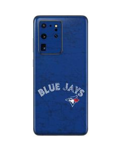 Toronto Blue Jays Solid Distressed Galaxy S20 Ultra 5G Skin
