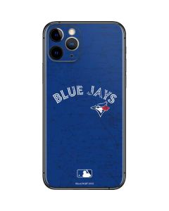 Toronto Blue Jays Solid Distressed iPhone 11 Pro Skin
