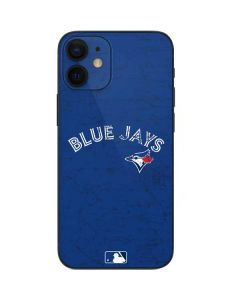 Toronto Blue Jays Solid Distressed iPhone 12 Mini Skin