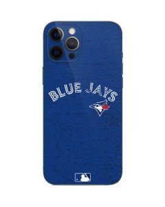 Toronto Blue Jays Solid Distressed iPhone 12 Pro Skin