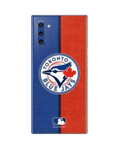 Toronto Blue Jays Split Galaxy Note 10 Skin