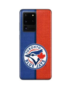 Toronto Blue Jays Split Galaxy S20 Ultra 5G Skin