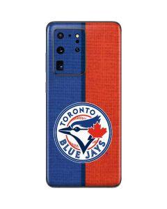 Toronto Blue Jays Split Galaxy S20 Ultra 5G Skin