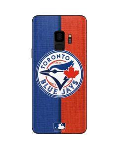Toronto Blue Jays Split Galaxy S9 Skin