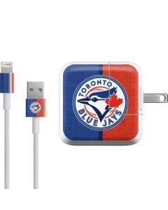 Toronto Blue Jays Split iPad Charger (10W USB) Skin