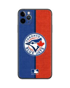 Toronto Blue Jays Split iPhone 11 Pro Max Skin