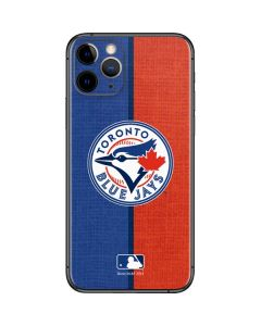 Toronto Blue Jays Split iPhone 11 Pro Skin
