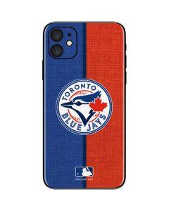 Toronto Blue Jays Split iPhone 11 Skin