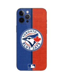 Toronto Blue Jays Split iPhone 12 Pro Max Skin