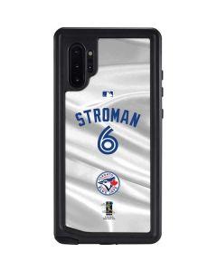 Toronto Blue Jays Stroman #6 Galaxy Note 10 Plus Waterproof Case
