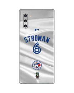 Toronto Blue Jays Stroman #6 Galaxy Note 10 Skin