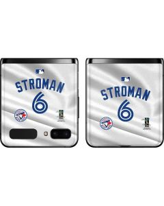 Toronto Blue Jays Stroman #6 Galaxy Z Flip Skin