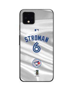 Toronto Blue Jays Stroman #6 Google Pixel 4 Skin