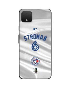 Toronto Blue Jays Stroman #6 Google Pixel 4 XL Skin