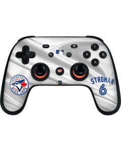 Toronto Blue Jays Stroman #6 Google Stadia Controller Skin