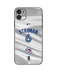 Toronto Blue Jays Stroman #6 iPhone 11 Skin