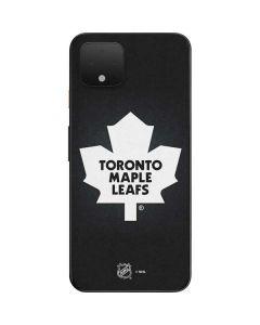 Toronto Maple Leafs Black Background Google Pixel 4 Skin