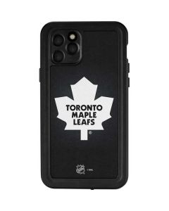 Toronto Maple Leafs Black Background iPhone 11 Pro Waterproof Case