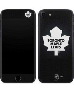Toronto Maple Leafs Black Background iPhone SE Skin
