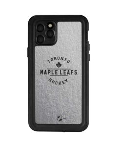 Toronto Maple Leafs Black Text iPhone 11 Pro Waterproof Case