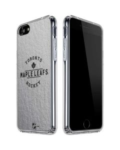 Toronto Maple Leafs Black Text iPhone SE Clear Case